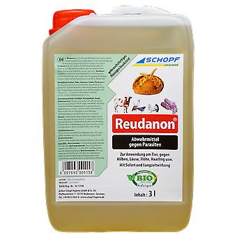 SCHOPF Hygiene® Reudanon - ready-to-use repellent against vermin on the animal, 3 litres