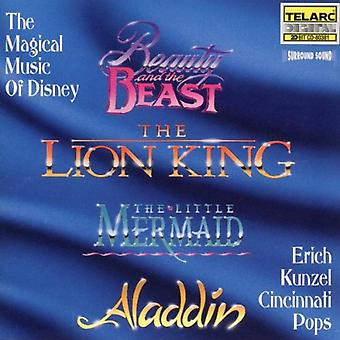 Kunzel/Cincinnati Pops - magiska musik av Disney [CD] USA import