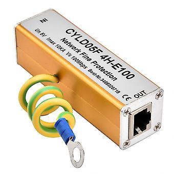 Rj45 Rj11 Adaptor Ethernet Network Surge Protector
