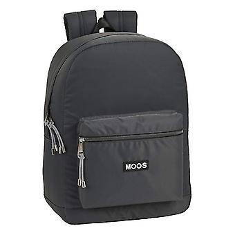 Laptop Backpack Moos 15,6'' Grey