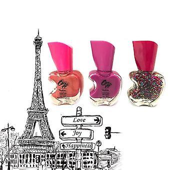 Oh Fashion Nail Polish Apple Bite Set Paris