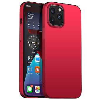 Ultra thin case for iphone 12 pro max anti fall shockproof cover red kc74