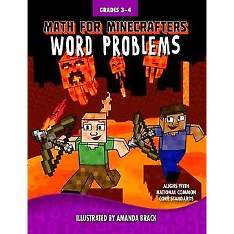 Math for Minecrafters Word Problems Grades 34 by Sky Pony Press