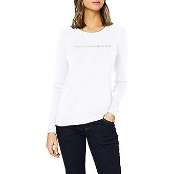United Colors of Benetton 3GA2E16G0 T-shirt, White 101, XS Woman