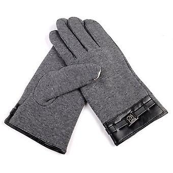 Téli meleg puha teljes ujj kesztyű