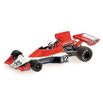 Tyrrell Ford 007 (Ian Scheckter - 1975) helstøpt modell bil