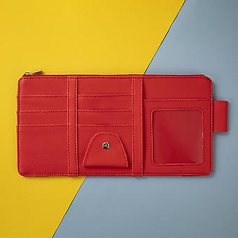 Auto Sun Visor Point Pocket / Pouch Bag Card Glasses Storage Holder