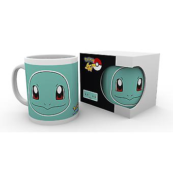 Pokemon Squirtle ansikte mugg