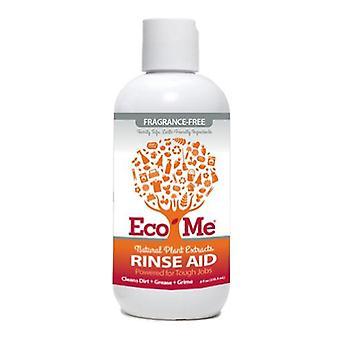 Eco-Me Auto Dish Rinse Aid Fragrance Free, 8 Oz