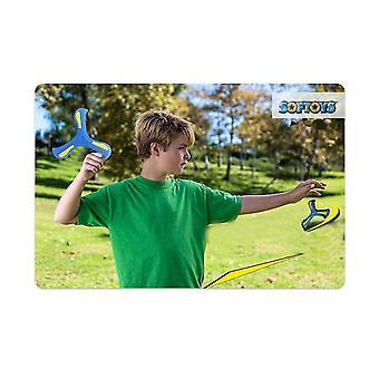 Visszatérő Boomerang, puha Boomerang sportolók, a sport játék játék kezdőknek (KÉK)