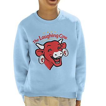 The Laughing Cow Contemporary Logo Kid's Sweatshirt