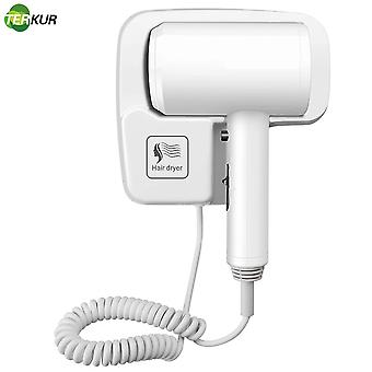 Professional Hotel Hair Dryer Wall Mounted Strong Hotel Bathroom Homestay Household Free Punching