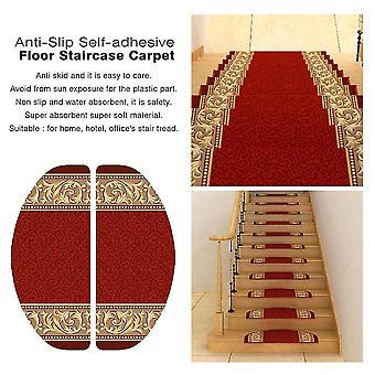 Anti-slip Self-adhesive Staircase Carpet Hotel Decoration Stair Tread Mats