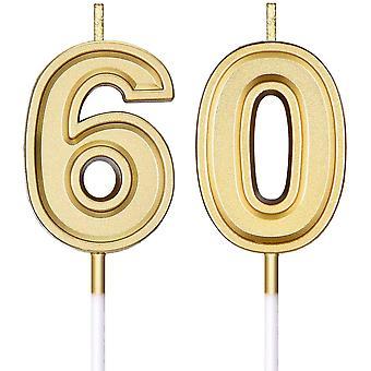 60. Geburtstag Kerzen Kuchen Zahl Kerzen Happy Birthday Kuchen Kerzen Topper Dekoration für