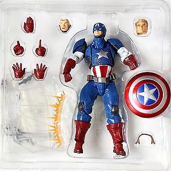 Amazing Captain America Action Figure Toy New Box