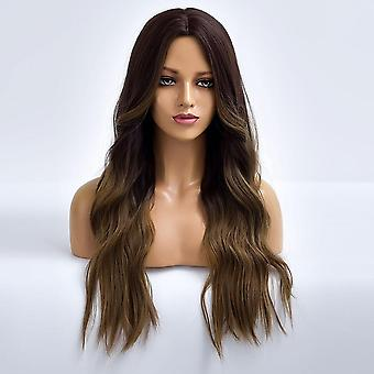 """18-24"""" Women Loose Wave Curly Hair Extensions Bundle Synthetic Hair Weft Cosplay"""