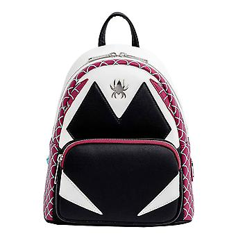Loungefly Mini Backpack Spider Gwen Cosplay new Official Marvel Black
