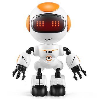 Robotic toys rc robot luke intelligent robot touchable smart mini rc robots for kids|rc robot white