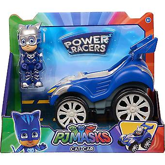 Video game consoles power racer vehicle figure - catboy