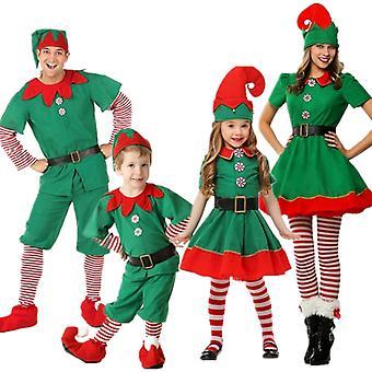 Рождественский одевалки для родителей и детей, Рождественский эльф Одевалки