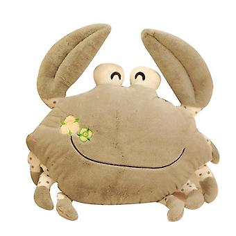 Cute Crab Plush Zabawka Lalka Poduszka Creative Hairy Crab Male Christmas Gift