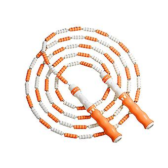 Caraele Soft Beaded Jump Rope Segmented Fitness Skipping Rope For Men Women And Kids Exercise And Weight Loss