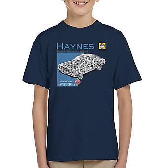 Camiseta de Haynes propietarios taller Manual 0295 MK2 Ford Cortina infantil