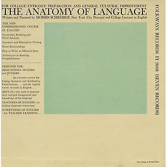 Morris Schreiber - anatomie van taal [CD] USA import