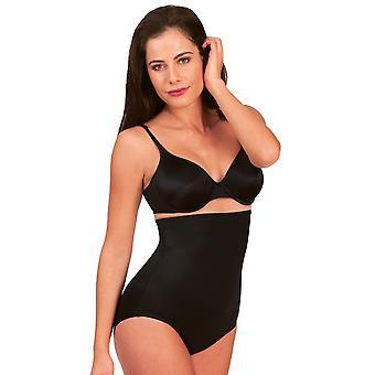 Damskie Miraclesuit Shapewear Soft Comfort czarny damski wysokiej talii krótki 2755