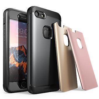 IPhone 7 tapauksessa, iPhone 8 tapauksessa SUPCASE vettä kestävä vankassa Screen Protector ja 3 vaihdettavissa kannet