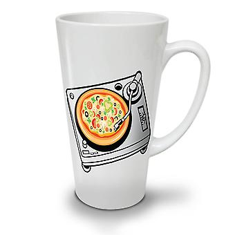 Pizza Dj Mix Music Food NEW White Tea Coffee Ceramic Latte Mug 12 oz | Wellcoda