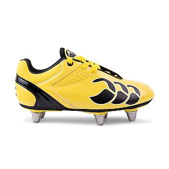 Bottes de rugby junior de CCC phoenix club 6 goujon [flash jaune/noir]
