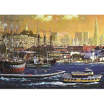 Jumbo San Francisco Bay, USA Premium Jigsaw Puzzle (1000 Pieces)
