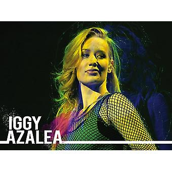 Iggy Azalea Poster Photo Art Print (24x18)