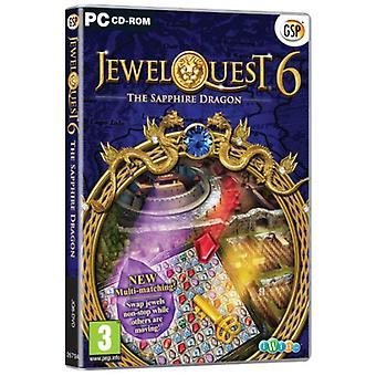 Jewel Quest 6 - Der Saphirdrache (PC CD) - Neu