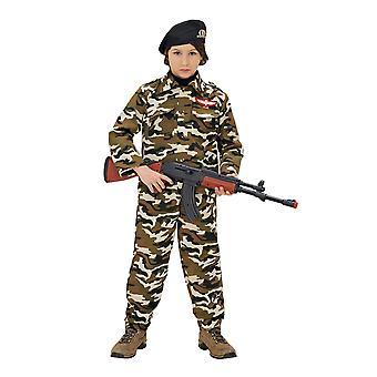Kinderkostüme Kinder Soldaten-Kostüm für Jungen