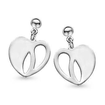 Orphelia Silver 925 örhängen hjärta ZO-5062