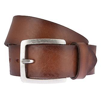 Ceintures de ceinture ceintures hommes LLOYD hommes cuir ceintures de cuir ceintures hommes Cognac 6617