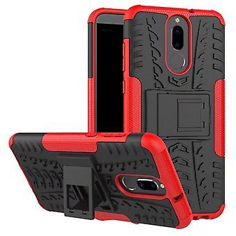 Hybrydowy przypadek 2 kawałek SWL na zewnątrz czerwony dla Huawei mate 10 Lite kieszeń tulei pokrywy ochrony