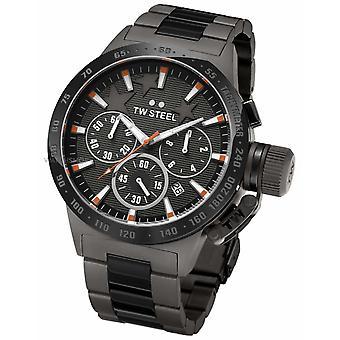 TW Steel Michel Canteen Mens Black Chronograph TW0313 Watch