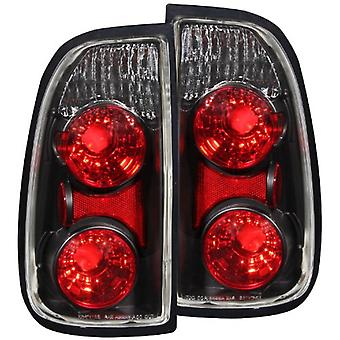Anzo USA 211126 Toyota Tundra Black Tail Light Assembly - (Sold in Pairs)