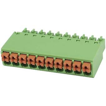 Degson Pin enclosure - cable Total number of pins 6 Contact spacing: 3.5 mm 15EDGKN-3.5-06P-14-00AH 1 pc(s)