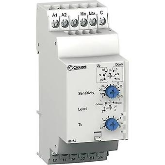 Crouzet Monitoring relay 24 V DC, 24 V AC, 240 V DC, 240 V AC 2 change-overs 1 pc(s) HNM Fluid level monitoring , Pump in/out
