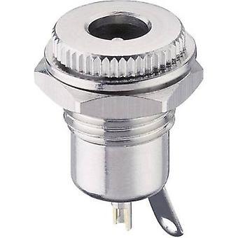 Lumberg 1614 16 Low virtaliitin pistorasia, pystysuora pystysuora 5.6 mm 2 mm 1 PCs()