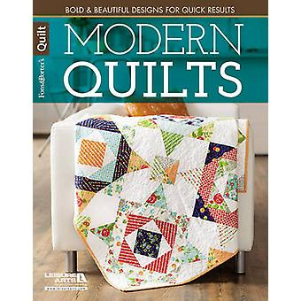 Modern Quilts  Bold amp Beautiful Designs for Quick Results by Marianne Fons & Liz Porter
