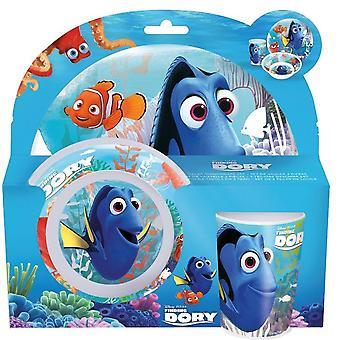 Nemo y Dory comedor conjuntos 3 piezas