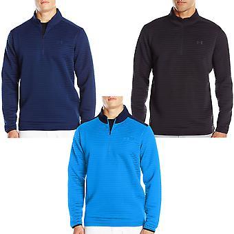 Under Armour UA Mens Tips Daytona 1/4 Zip Long Sleeve Golf Jumper Sweater Top