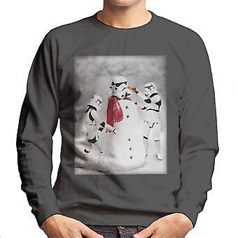 Oryginalna szturmowców Christmas Snow Trooper męska Bluza