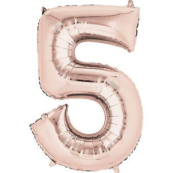Anagram Mini Shape 16in Number Foil Balloon
