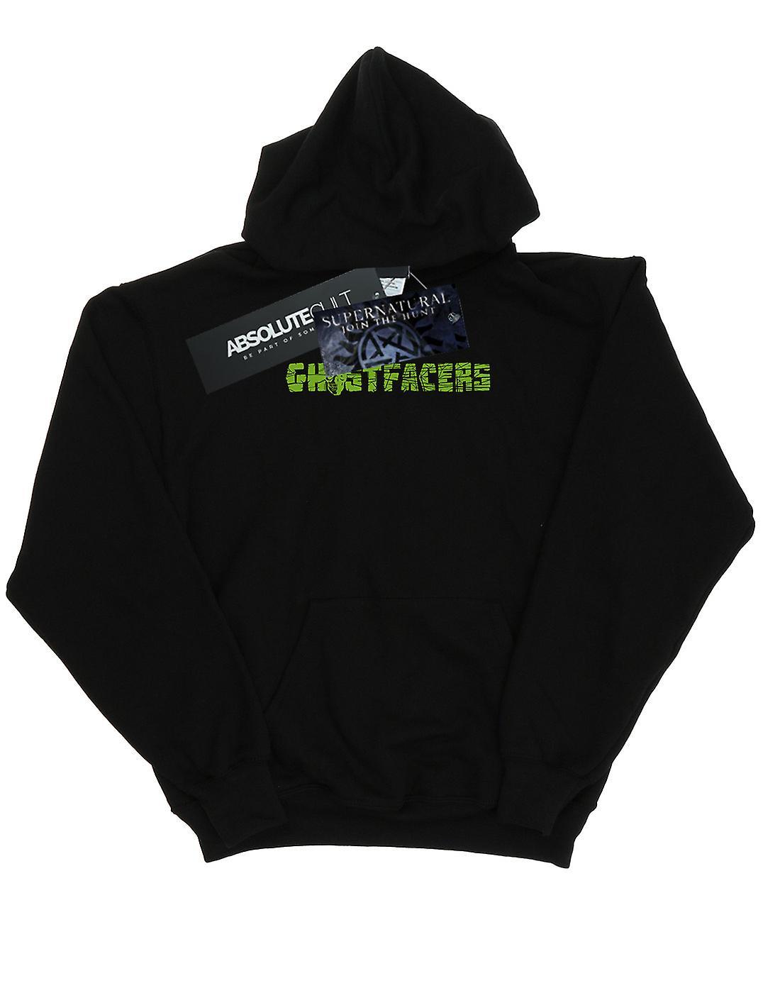 Supernatural Men's Ghostfacers Logo Hoodie